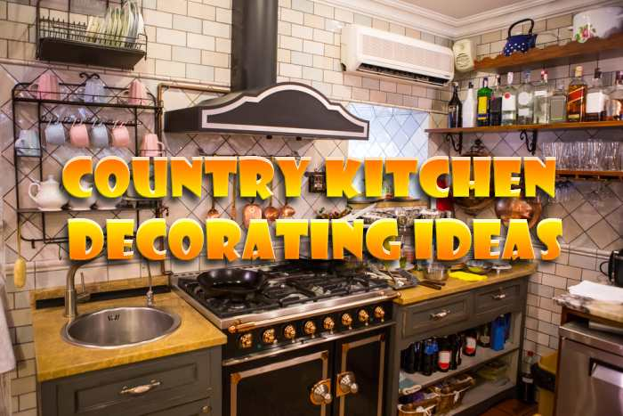 How to decorate a kitchen country style?