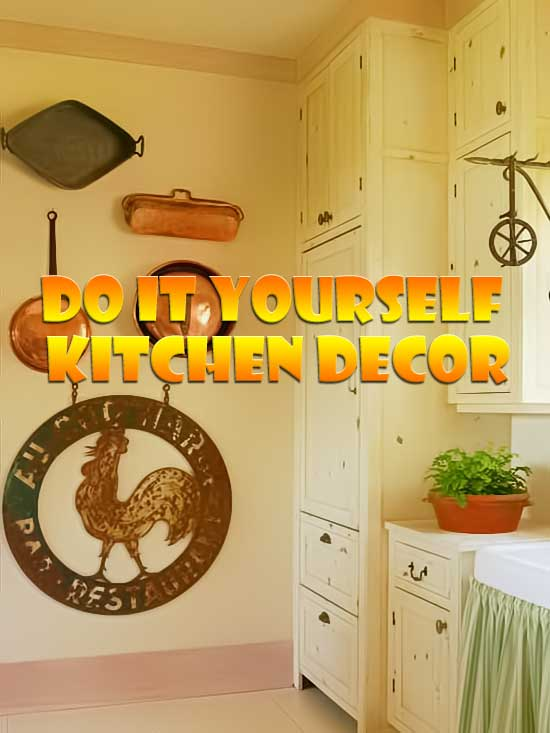 Do It Yourself Home Decorating Ideas: Do It Yourself Kitchen Wall Decor