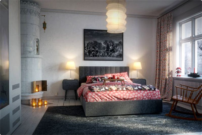 Beautiful Bedroom Ideas.  Lighting fixtures are essential. For a relaxing and romantic atmosphere, subdued lighting is more ideal to use. #bedroom