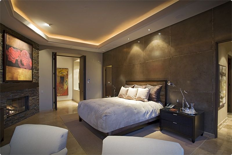 Modern Bedroom Ideas. Color determines what the personal disposition and character are. #bedroom