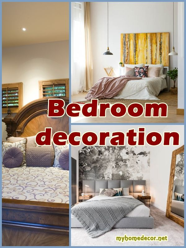 Bedroom decoration. Master bedroom ideas., bed design.