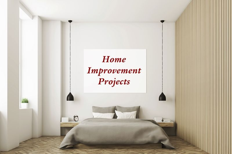 Home Improvement Projects. Home improvements can require some amount of time, but the result of having a brighter foyer, laundry room, and family room can be well worth it. #homeimprovement